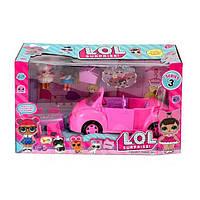 ЛОЛ LOL Машина для кукол кабриолет TM853C