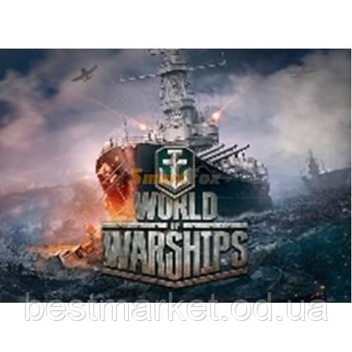 Коврик World of Ships (2) 250x290x2mm