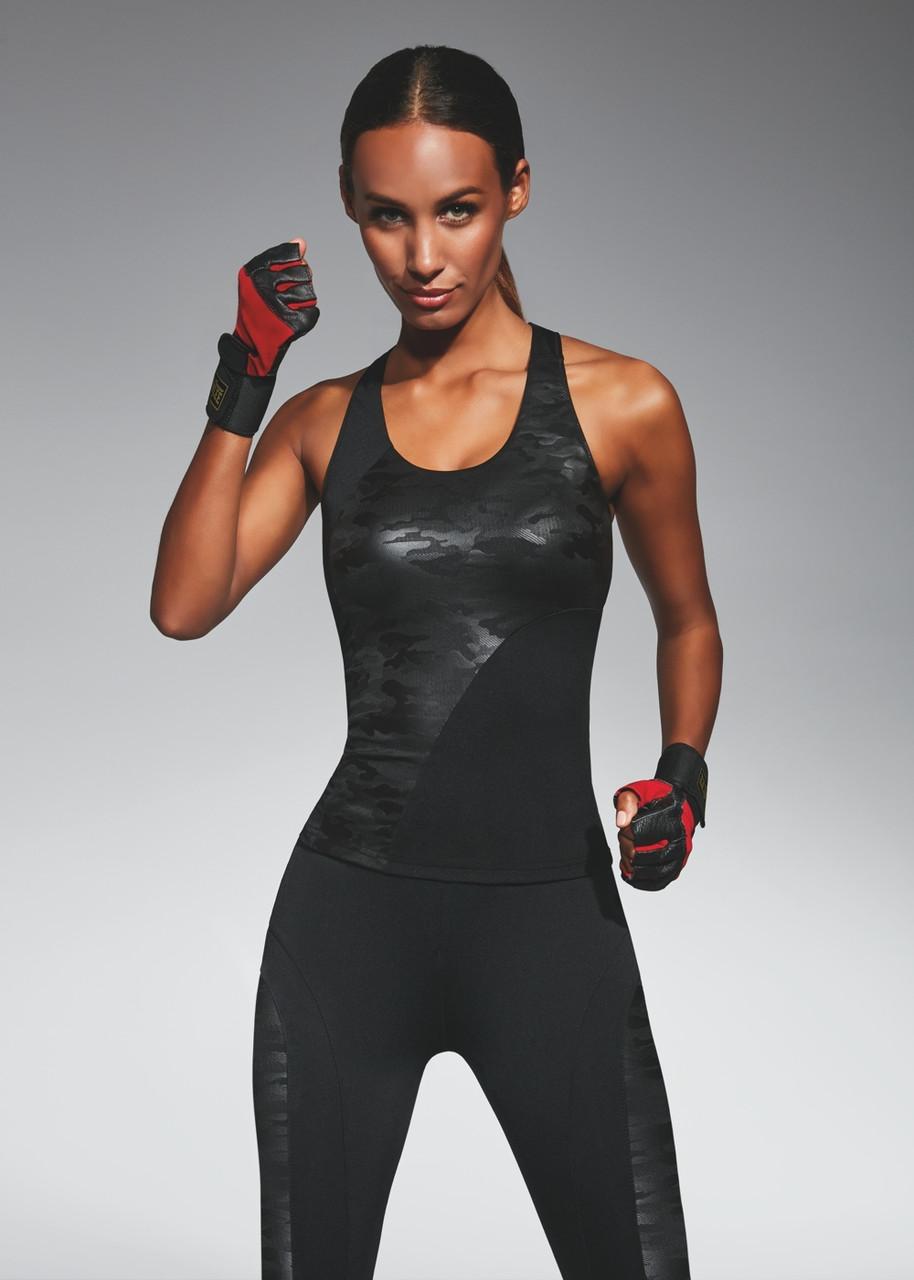 Спортивний жіночий топ BasBlack Combat-top 50 (original), майка для бігу, фітнесу, спортзали