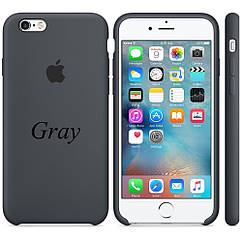 "Apple silicon case iPhone 6,6s  "" Gray"""