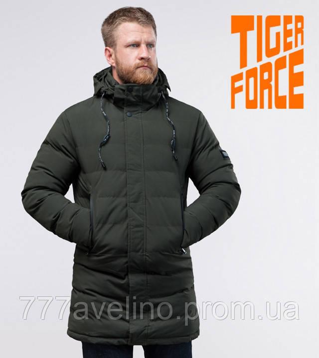 Tiger Force  мужская зимняя куртка темно-зеленая