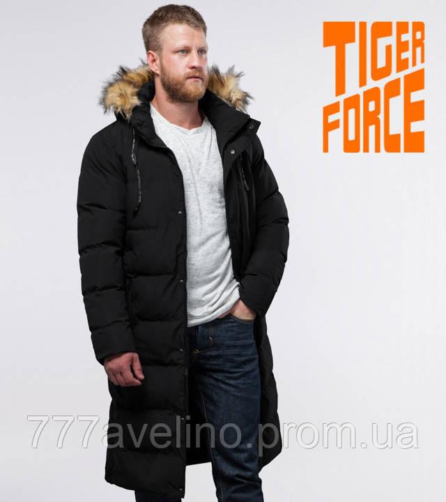 Куртка зимняя мужская черная