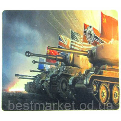 Килимок для миші World of Tanks (250х290х2мм) №1
