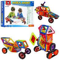 Магнитный конструктор Magical Magnet транспорт 7098A (98 деталей) ***