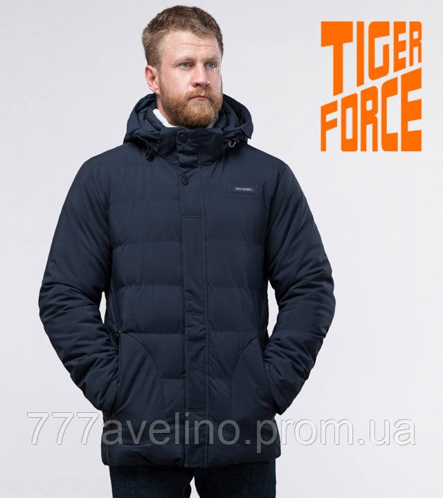 Tiger Force | зимняя куртка мужская синяя