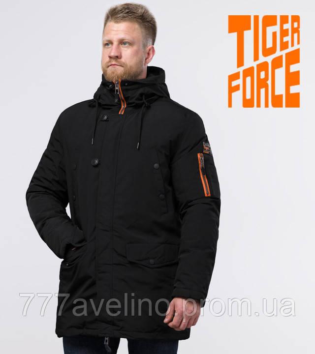 Tiger Force 54120 | мужская зимняя парка черная