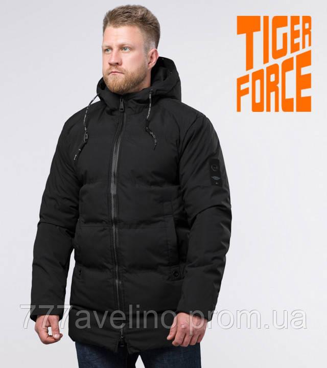 Tiger Force 70911 | зимняя мужская куртка черная