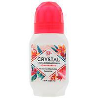 Натуральный шариковый дезодорант, гранат (66 мл), Crystal Body Deodorant