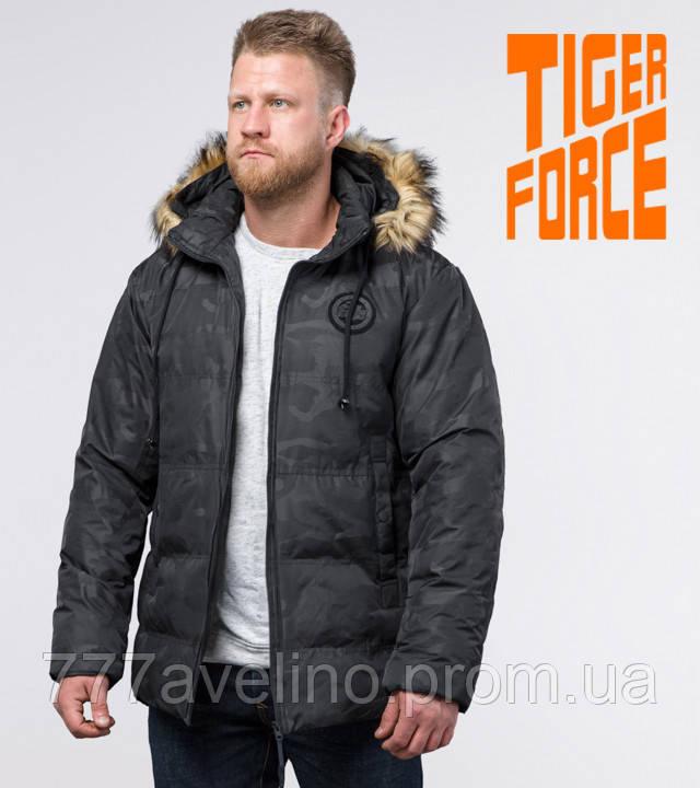 Tiger Force 53759   мужская зимняя куртка черная