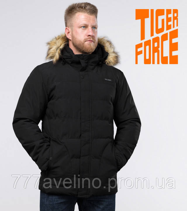 Tiger Force мужская куртка зимняя черная