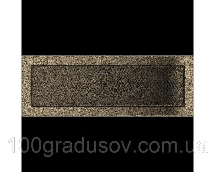 Решетка Pal 17х49 (черно-золотая)