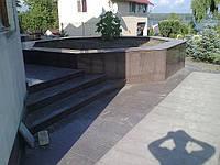 Гранитные ступени в Белоруссии