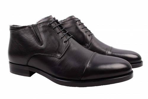 Ботинки Marco Piero натуральная кожа, цвет черный