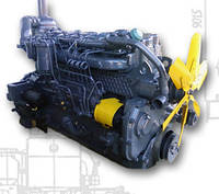 Двигатель, муфта сцепления.