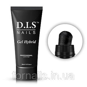 Акрил-гель DIS Gel Hybrid polygel №13(черный), 30 мл