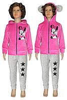 NEW! Cтильные велюровые детские костюмы для девочек серии Минни ТМ УКРТРИКОТАЖ!