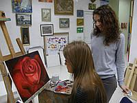 "Картина ""Красная роза"""