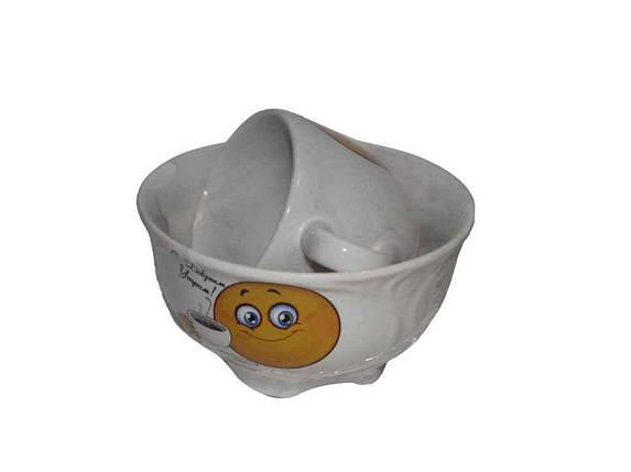 """Набор детской посуды 2 предмета Смайл """"Авангард"""", фото 2"""