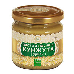 Паста из семян кунжута (урбеч) 200 г, Ecoliya