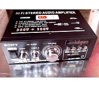 Усилитель звука SONY AK-699D MP3 FM USB караоке