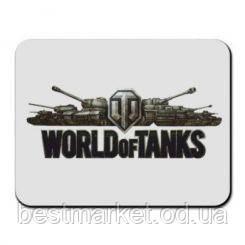 Килимок для миші World of Tanks (240х290х2мм) №5