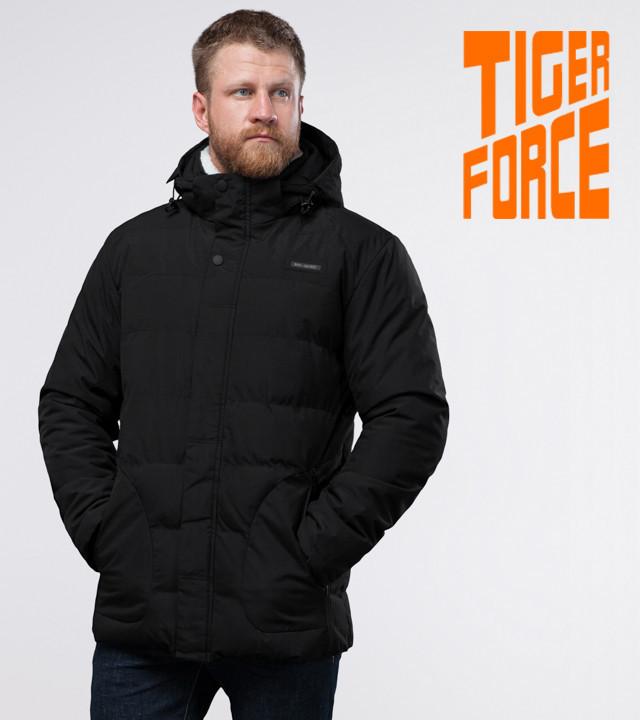 Tiger Force 70292   Мужская куртка на зиму черная