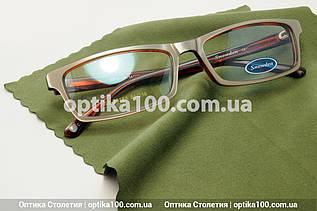 Серветка мікрофібра для окулярів, оптики. Зелена (хакі). Преміальна якість