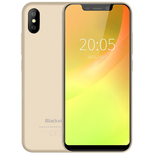 Смартфон Blackview A30 2/16Gb Gold 3 мес