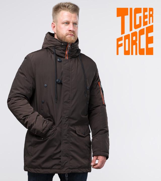 Tiger Force 54120   Парка мужская зимняя кофе