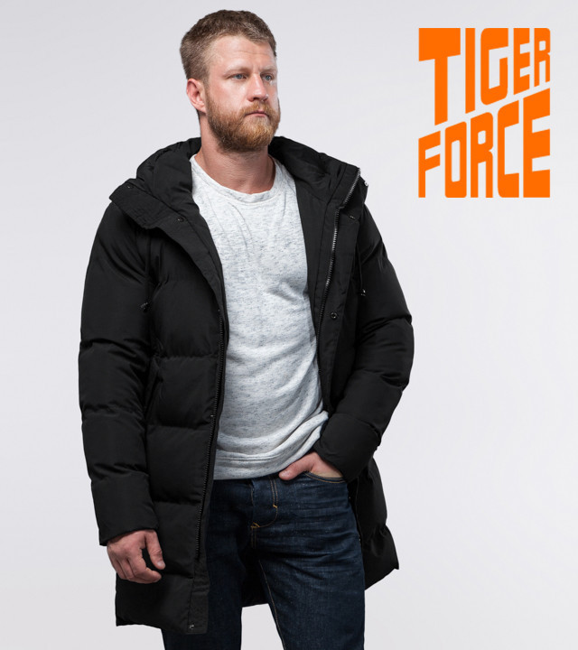 Tiger Force 56460   Зимняя куртка на мужчину черная