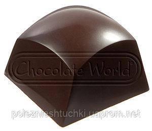 Форма для шоколада Куб Chocolate World (27x27x19 мм)