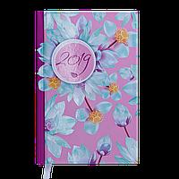 Ежедневник датированный 2019 ESTILO, A6, 336 стр., малиновый 2560-29 , фото 1