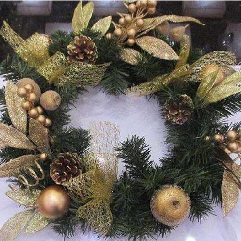 "Декор рождественский ""Венок"" R84371, фото 2"