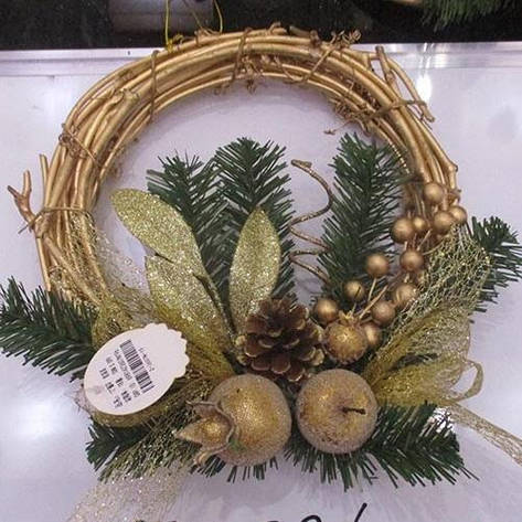 "Декор рождественский ""Венок"" R84376, фото 2"