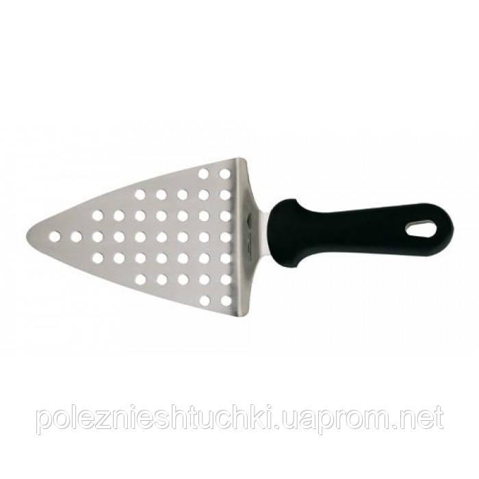 Лопатка для пиццы перфорированная 15х12 см. с пластиковой ручкой Paderno