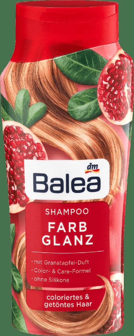 Шампунь для окрашенных и тонированных волос Balea Farbglanz, 300 ml