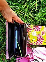 Женский кошелек с принтом «собаки и коты», фото 3