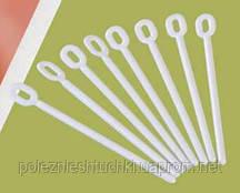 Палочки для сладостей 10,5 см., 100 шт/уп пластиковые, белые Martellato