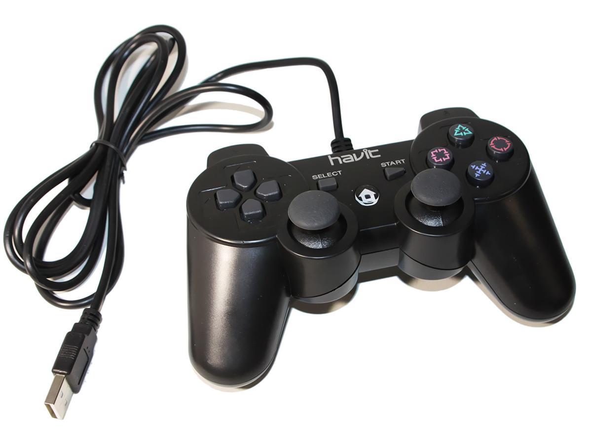 Геймпад Havit HV-G110, Black, USB, PS3