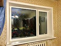 Откосы Qunell (Кюнель) белые К100 1.5-2.25. Полный набор с креплениями на окно 1.5*2.25