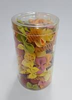 Тубусы пластиковые прозрачные цилиндрические, овальные, кубы
