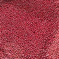 Нонпарель перламутровая  красная 1 кг
