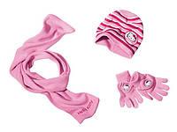 Тройка: Шапка+ шарфик+ перчатки Китти