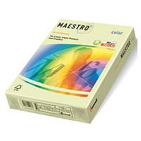 Цветная бумага А4 160 г/м2 GN27 светло-зеленый