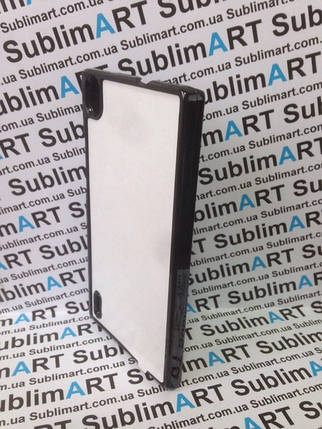 Чехол для 2D сублимации пластиковый на Huawei P7 черный, фото 2