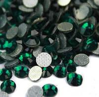 Стразы DMC, Emerald SS20 термоклеевые. Цена за 144 шт, фото 1