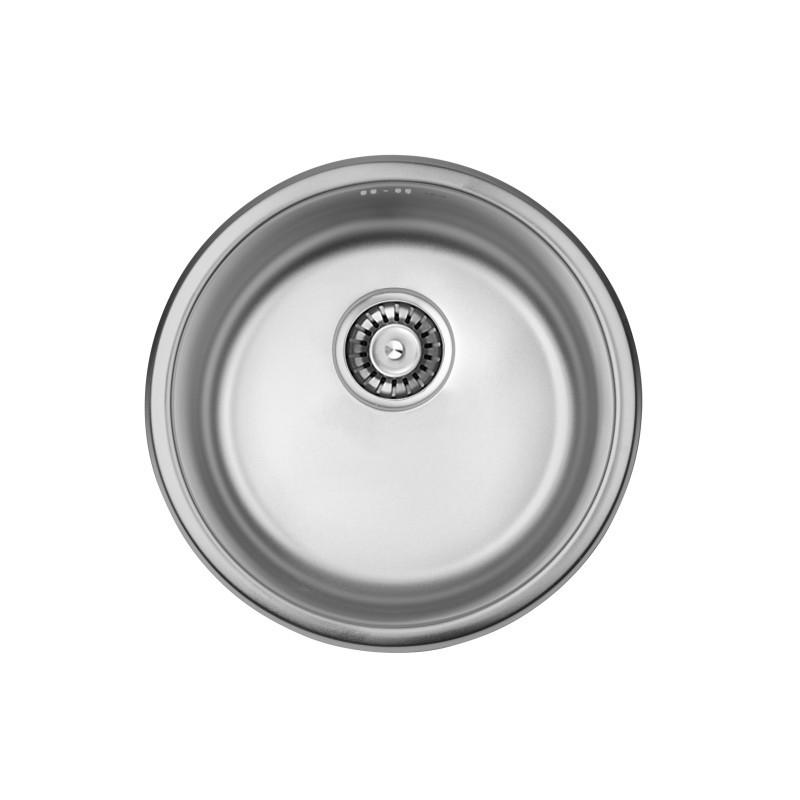 Кухонная мойка ULA из нержавеющей стали 7102 ZS satin 08мм