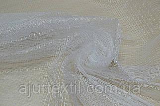 Тюль сеточка белая, фото 2