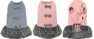 Платье для собак ДАРЛИНГ, розовый, размеры S, M,  L