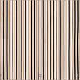 Уличная ткань с тонкими черно-коричневыми полосами на бежевом , фото 2